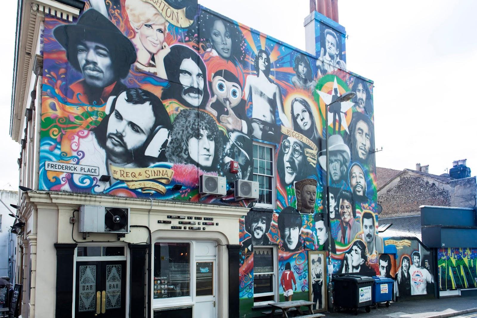 Brighton_Grafiti art_Credit VisitBrighton, Adam Bronkhorst