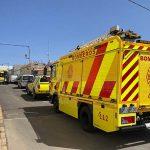 Rettungskräfte in Tiscamanita