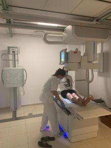 Imagen del nuevo aparato instalado en el CS de Morro Jable